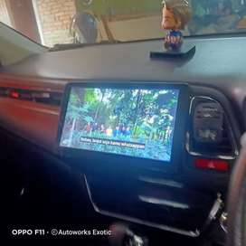Head unit android HRV 10inc Orca plus frame