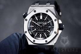 SECOND Audemars Piguet Diver Steel 15710ST See Through Best By JF V8