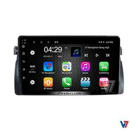"V7 BMW E46 Android LCD Panel 10"" Screen Android GPS navigation DVD"