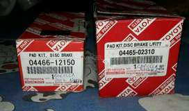 Genuine Brake Disk Pads of Corolla