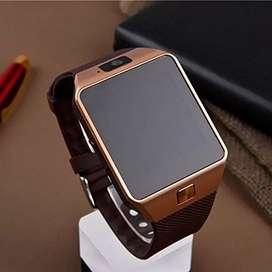 Golden Smart watch DZ09