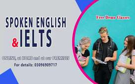 SPOKEN ENGLISH, IELTS, IELTS LIFE SKILL A1, MA ENGLISH