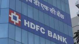 Requirement available at hdfc bank job male and female