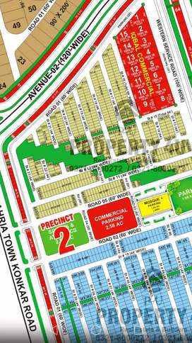 150 yards plot pricent 2 Iqbal villa limited plot bahria town Karachi