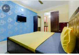 Single Furnished Room set available in Crossing Republic, Ghaziabad.