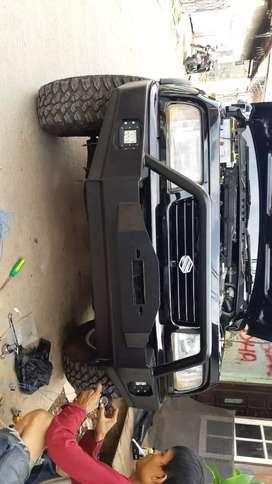 Bumper/Bemper/Overland/Tanduk Mobil Fortuner