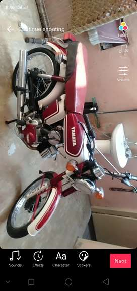 yamaha 100cc two stroke with a good condition
