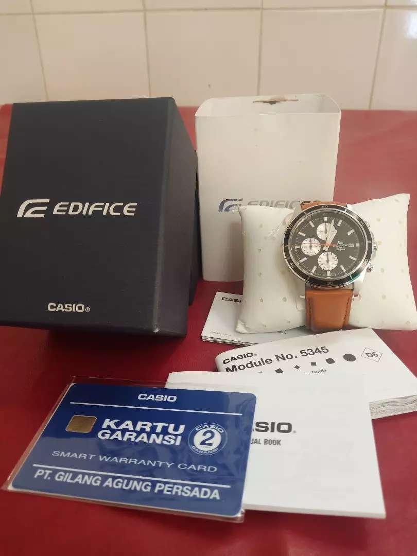 Jam Tangan pria Edifice Casio EFR-526L-1BVUDF 0