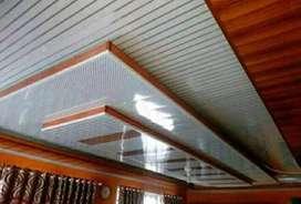 Layanan pasang plafon PVC kerja berpengalaman