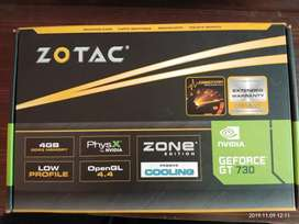 ZOTAC nvidia GEFORCE GT 730 ZONE Edition