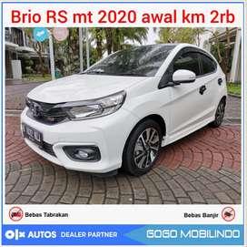 All New Brio RS mt 2020 Awal KM 2000 ANTIK Bisa Kredit