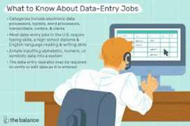 Data entry all type work