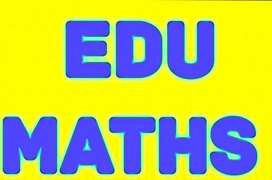 EduMaths tuition available in online and offiline mode