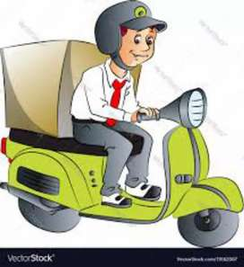 Hiring dilevry boy in courier company Gorakhpur