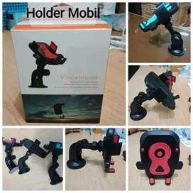 Holder mobil model robot gagang panjang
