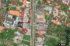 Disewakan Tanah/Gudang/Kantor Pinggir Bypass Sanur Denpasar