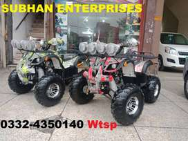 Box Packed 150cc Atv Quad 4 Wheels Bike Deliver In All Pakistan