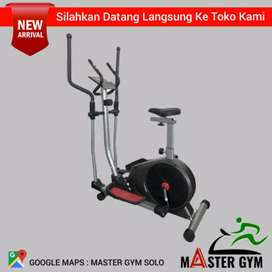 ELLIPTICAL BIKE - Grosir Alat Fitness - Master Gym Store !! MG#9486