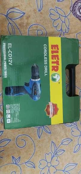 ELETR Battery drill machine