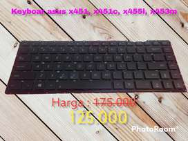 Laptop keyboard asus for x453, x451, x455