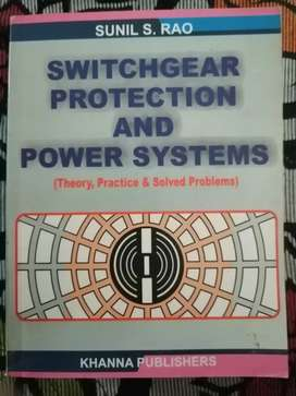 Switchgear Protection and Power Systems by Sunil. S. Rao