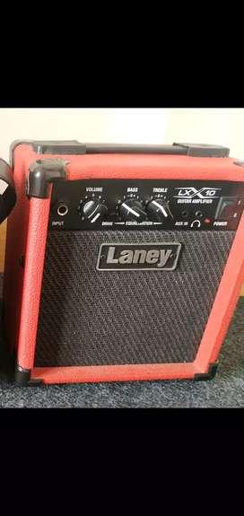 Ampli Speaker Sound System Gitar Guitar Laney LX 10 Merah Original