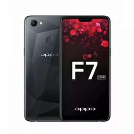 Oppo f7 10 by 10 condition with box 64gb