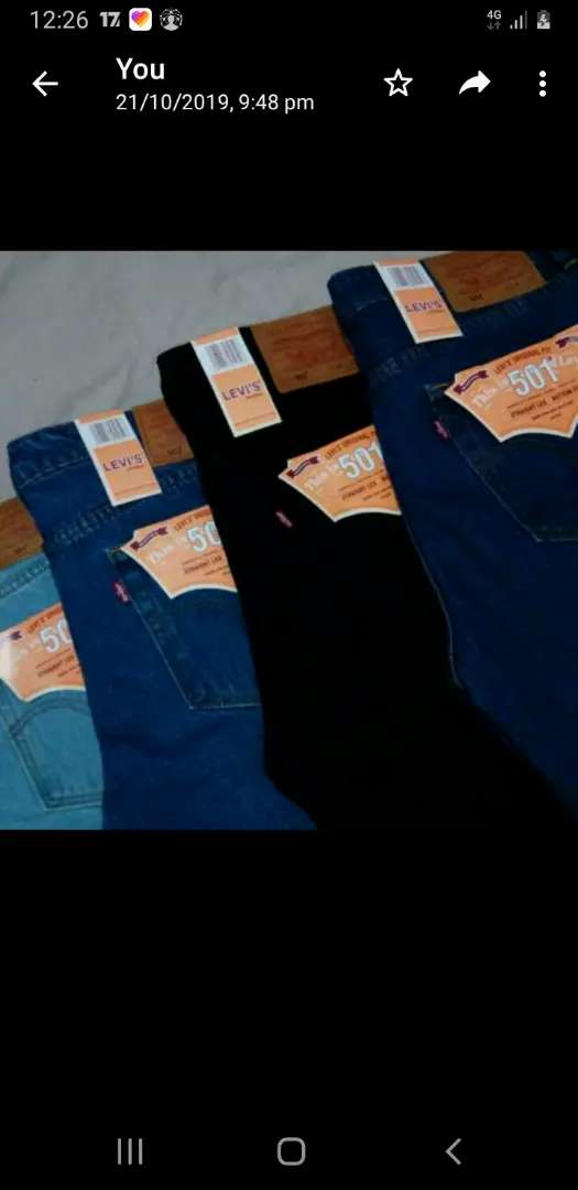 Levis  Leftover stock available. 0