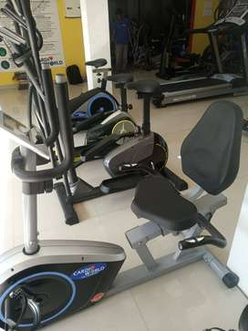 Recumbent Spin Bike for old age people
