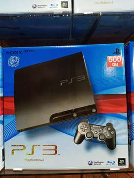Ps3 slim 500GB type 2000,seri trbaik