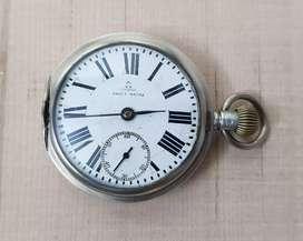 Antique OMEGA silver pocket watch