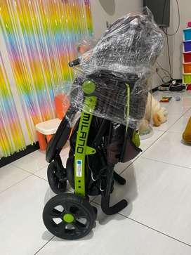 Stroller Pliko Milano Green