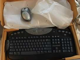 Wireless Keyboard and Mouse (New)