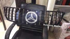 Mercedes Benz GTR Style grill fr E class W213 without illuminated star