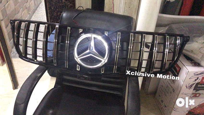 Mercedes Benz GTR Style grill fr E class W213 without illuminated star 0