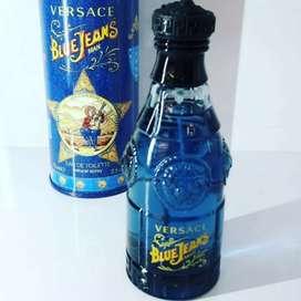 Parfum Original Pria Versace Blue Jeans 75ml EDT. Jogja COD