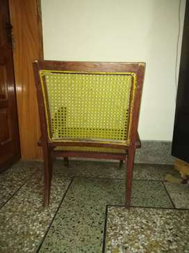Easy chairs wooden