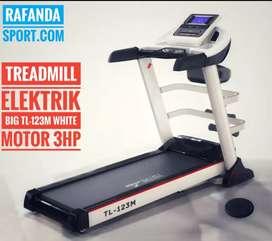 TL-123M Treadmill Elektrik 3in1 Keluaran Terbaru