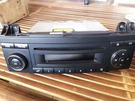 Head unit tape cd mercy B class