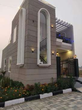 Villa for sale fully furnished ready to move 45 ft wide road