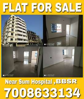 Flat For Sale {2 & 3 BHK} in ready to move condition at Sum Hospital