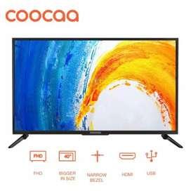 COOCAA 40D5A LED TV 40 inch - Full HD Panel - Slim - USB/HDMI