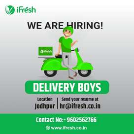 I-Fresh-Delivery Boys Required