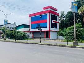 Aluva highway front 4cent 2000sqt commercial building new 2.10cr