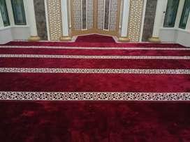 Karpet masjid lokal dan turki