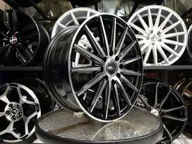 Velg Racing Murah HSR Tsukuba Ring 16 Lubang 4 Model Jari Jari R16 Hsr