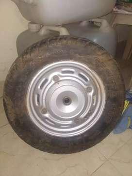 Honda Activa aviater CEAT wheel