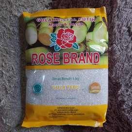 Gula Pasir Rose Brand Kuning 1kg Rosebrand murah