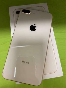 i phone 8 plus 128 GB for sale with bill box