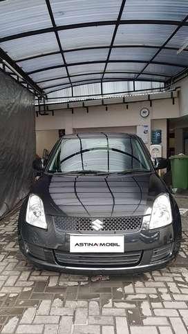 KM 71.000 Suzuki Swift 1.5 ST MT Manual 2008 Hitam ASTINA MOBIL